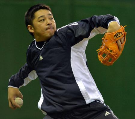 【野球】中日・森野、体脂肪率15%を目標に掲げる「中身を変えたい」