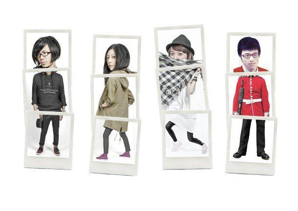 台湾発、UNFAMILIAR FRIENDS PARTYが8月7日にアルバム「SILENCE IS GHOST」で日本デビュー