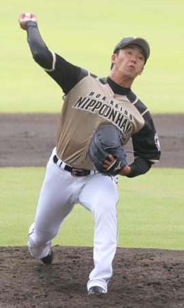 【野球】日本ハム斎藤佑は6回3失点で降板 「いい方向に行っていると思う」