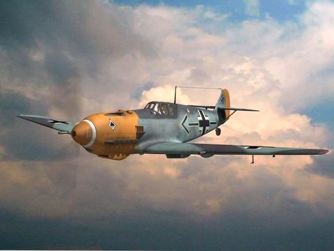 Bf109E-4-1056 のコピー - コピー