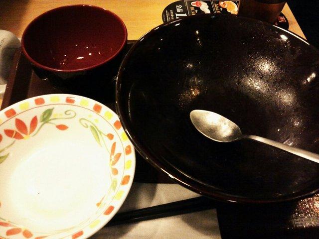 キング牛丼 アフター