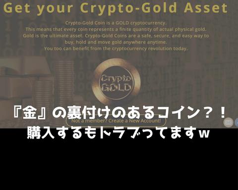 『金』の裏付けのあるコイン?!