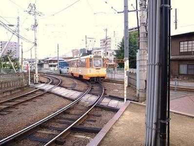 路面電車b