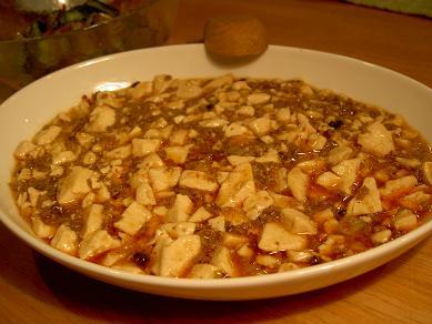 新春マーボー豆腐