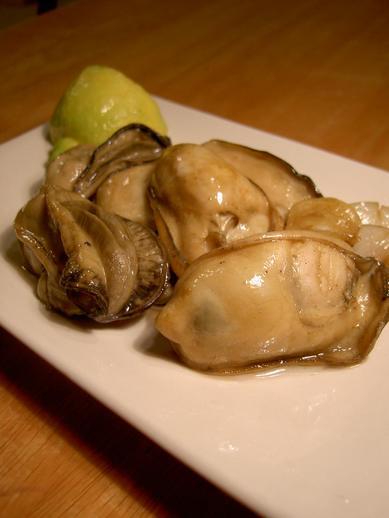 定番牡蠣のオイル煮b