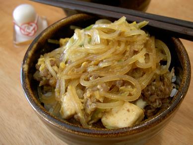 すき焼き風牛丼