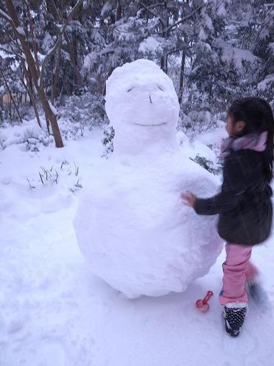 雪だるまb