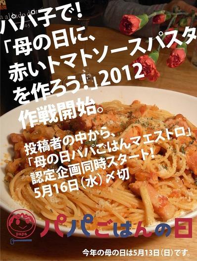 母の日キャンペーンマエストロ2012b