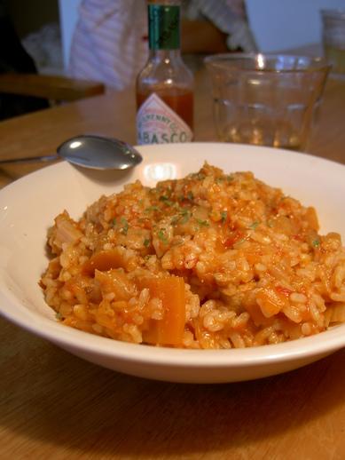 リゾット風トマト雑炊