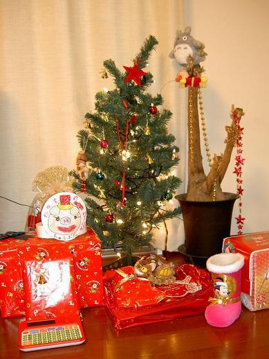 クリスマスプレゼントb
