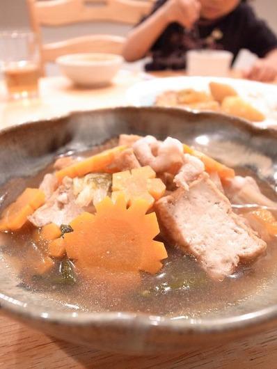 白菜と豚バラの煮物b