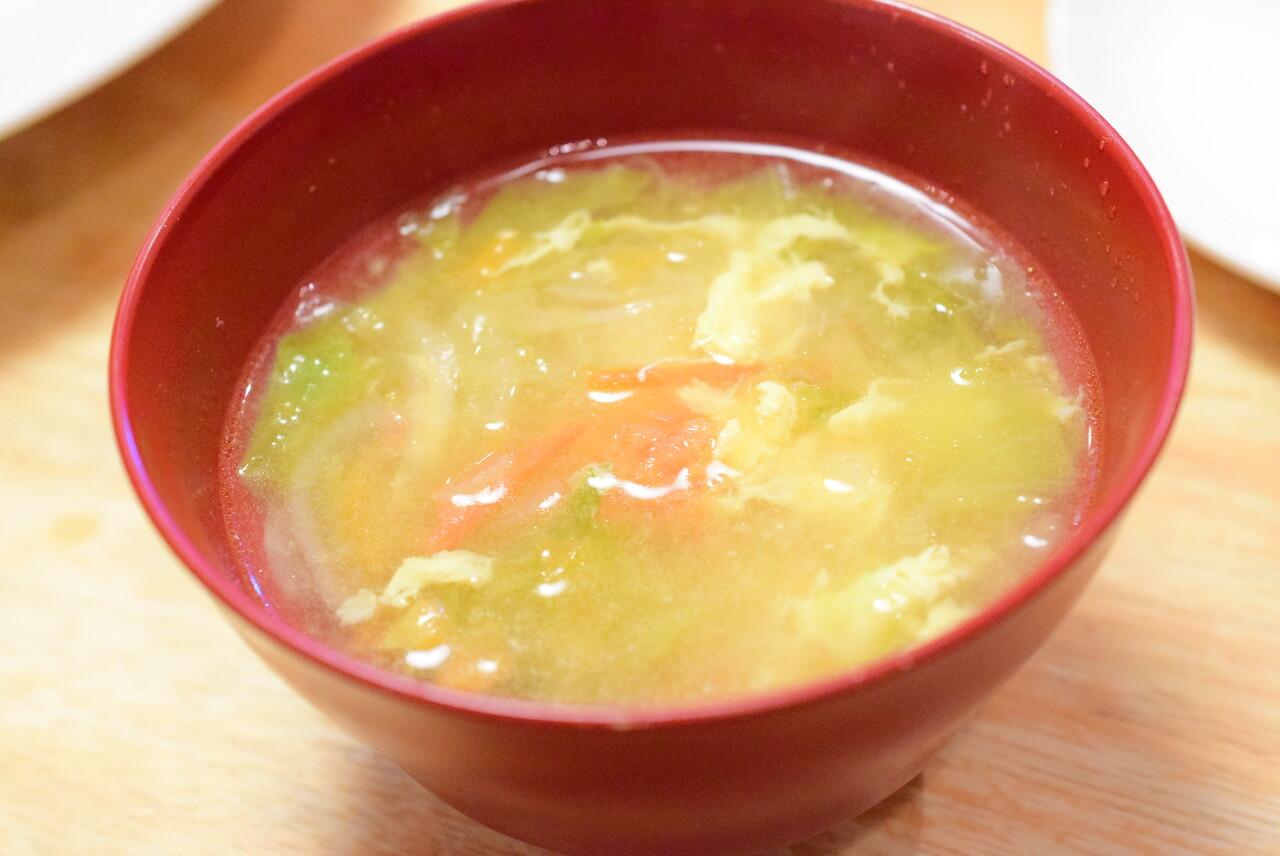 チキン玉子スープ