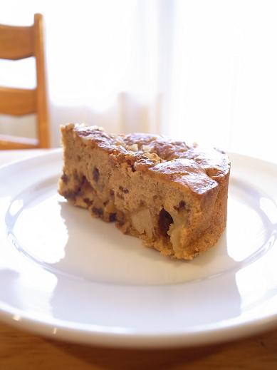 黒糖アップルケーキ (2)b