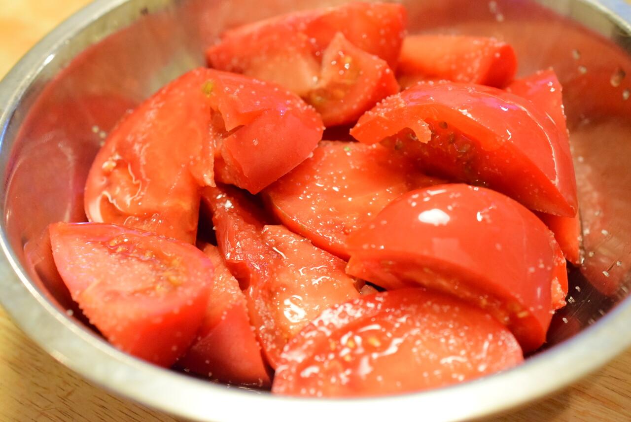 ポン酢冷やしトマト