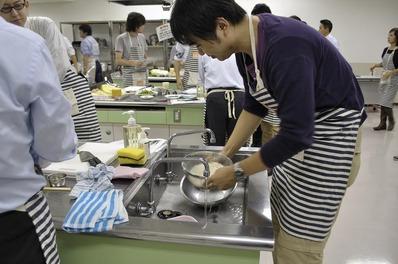 米洗うパパb