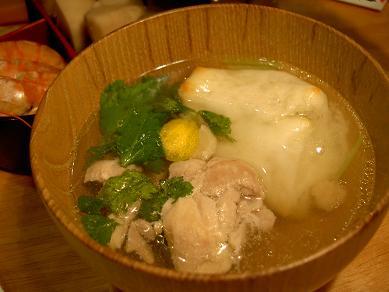 鶏のお雑煮