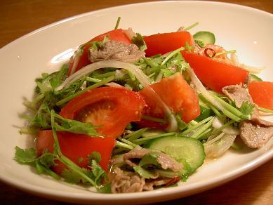タイ風牛肉サラダ