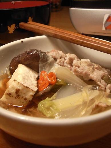 ハバネロ唐辛子醤油鍋b