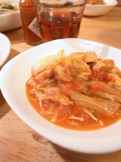 キャベツのトマト煮