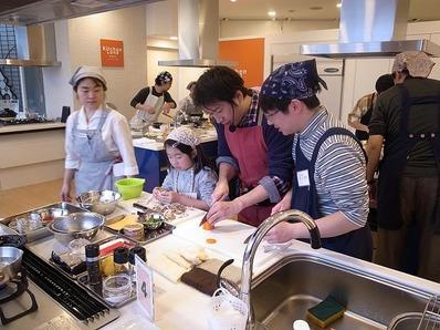 「パパごはんの日」クッキングライブin目黒パパ子料理教室b