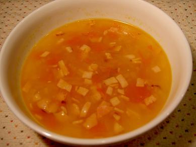 オニオンベーコンスープ