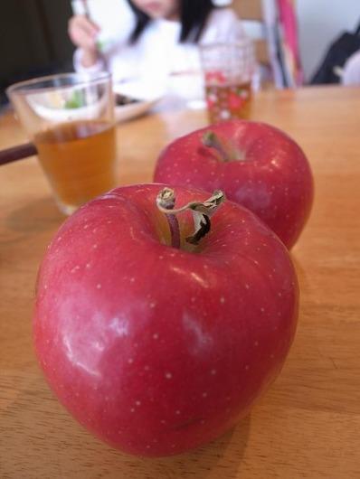 青森黒石市でもらったりんごb