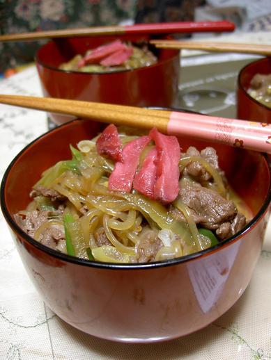 京都で牛丼b