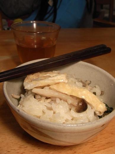 牡蠣の炊き込みご飯b