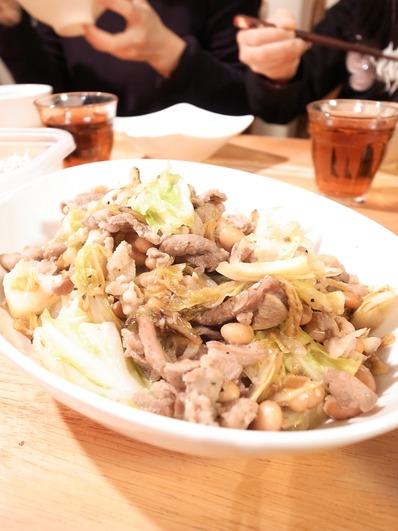豚ときゃべつの生姜焼き