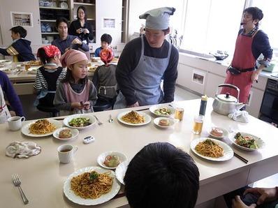 パパ子料理教室|父子料理皇室ビストロパパb