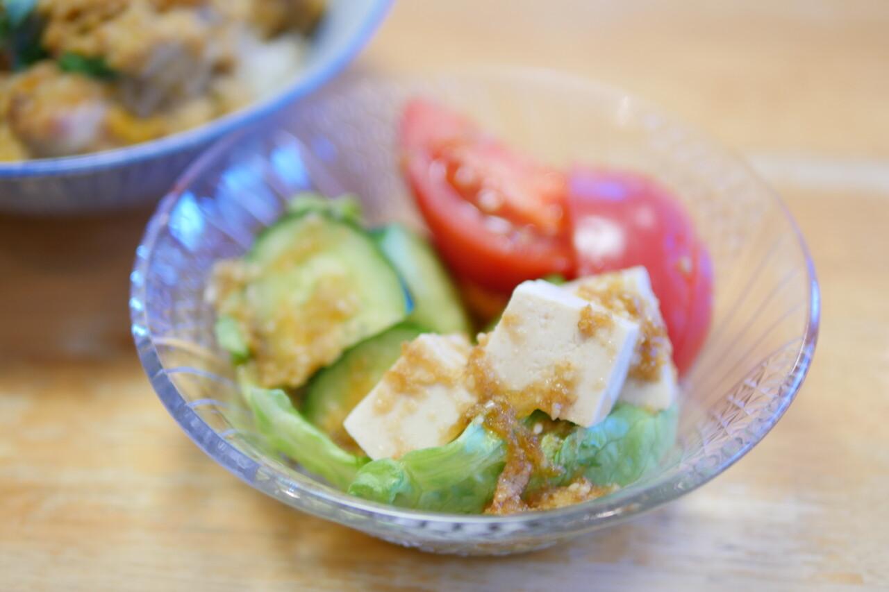 豆腐サラダ2