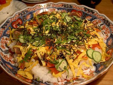ひな祭りチラシ寿司