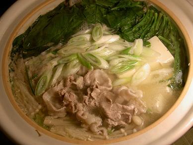 豚バラ&ロース鍋
