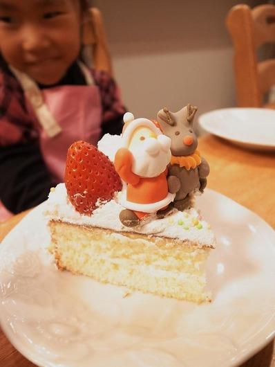 クリスマス手作りケーキb