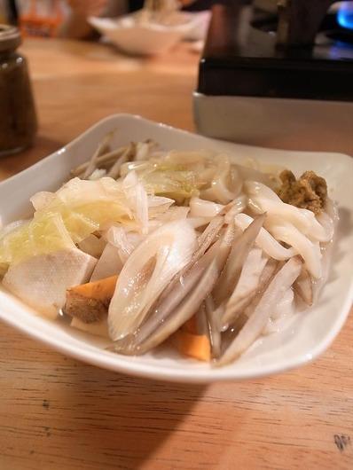 ごぼううどん鍋 (2)b