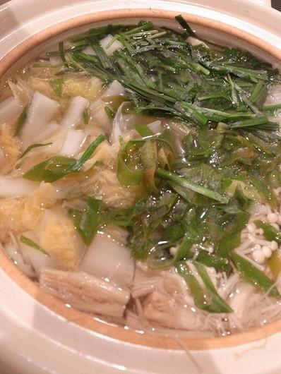 白菜ニラたら鍋b