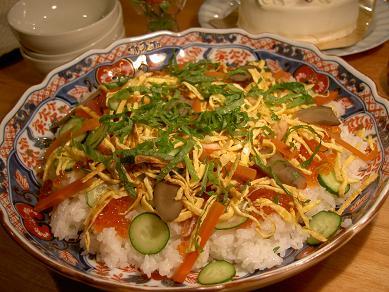 チラシ海鮮寿司
