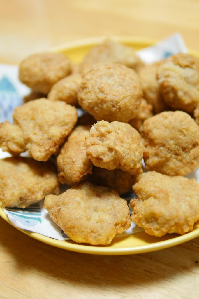 チキン豆腐ナゲット