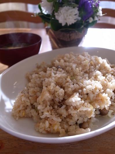 ツナ炒飯 (2)