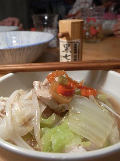 鶏すき鍋b