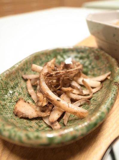 里芋の皮のきんぴらb
