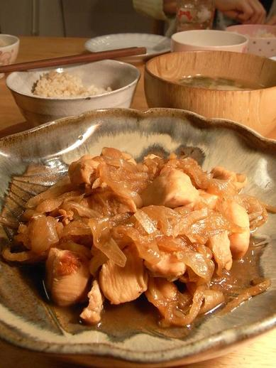 鶏の玉ねぎ煮物b
