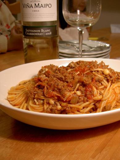 スパゲッティーボロネーゼb
