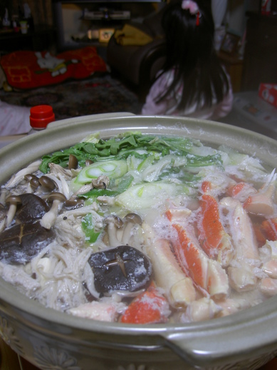ずわい蟹鍋