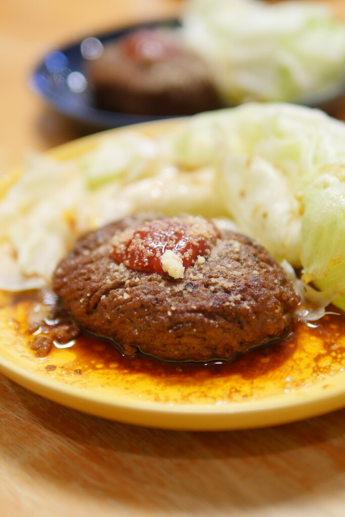 ひき肉ステーキ2