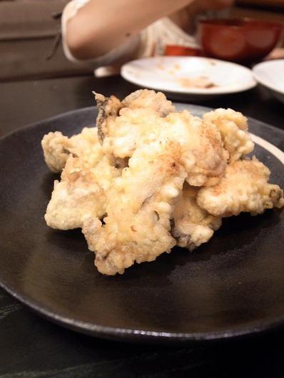 かきの天ぷらb