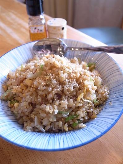 玄米ツナ炒飯