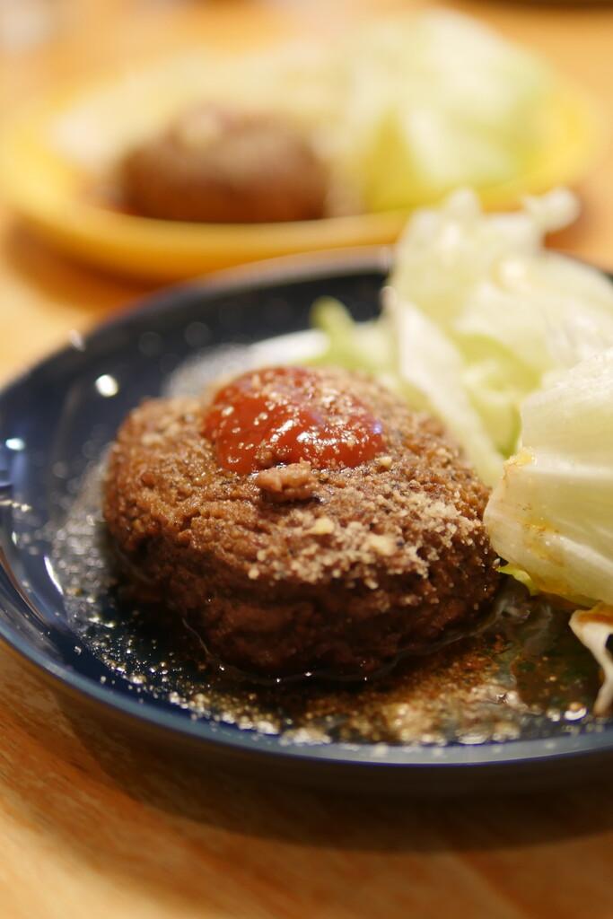 ひき肉丸ごとステーキ