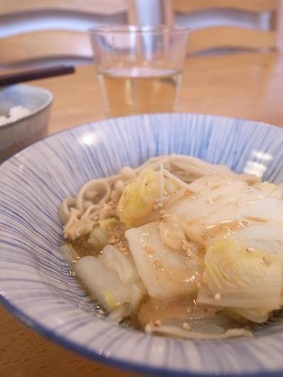白菜の蒸し鍋b