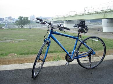 初多摩川サイクリング